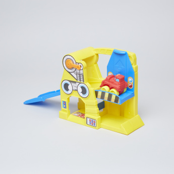 Baby Wheels Construction Playset