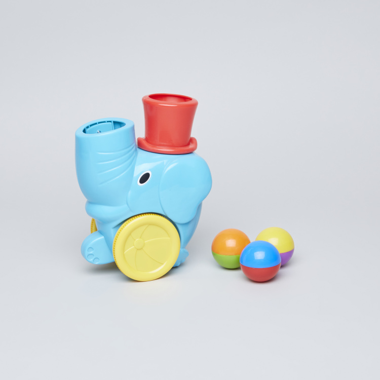 Pop n Go Elephant Car with Balls