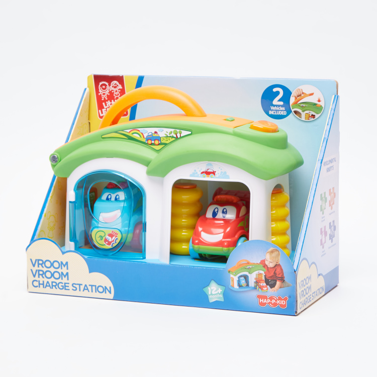 The Happy Kid Company VROOM VROOM Charge Station Playset