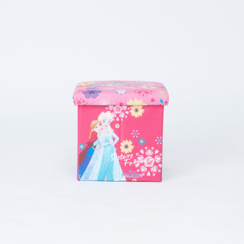 Frozen Printed Storage Box with Lid