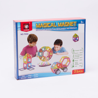 Magical Magnet 71-Piece Playset