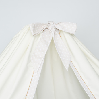 Giggles Bed Canopy with Bow Detail