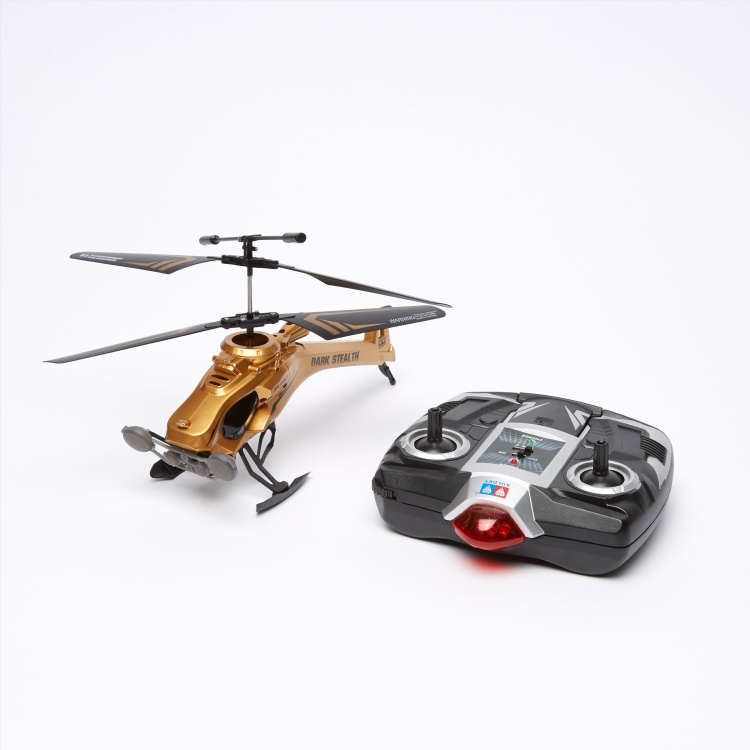 Sky Rover Dark Stealth Remote Controlled Helicopter with LED Lights