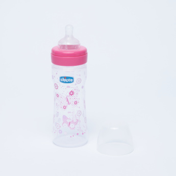 Chicco Printed Feeding Bottle  - 250 ml