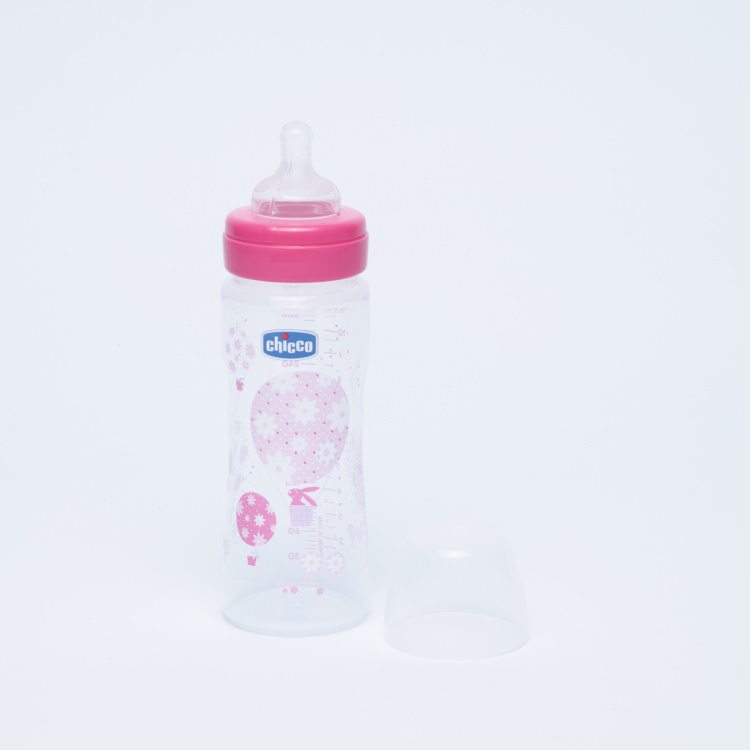 Chicco Well Being Feeding Bottle - 330 ml