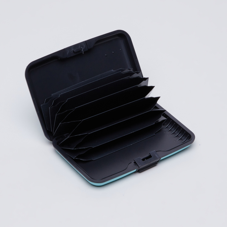 Multi-Compartment Credit Card Holder