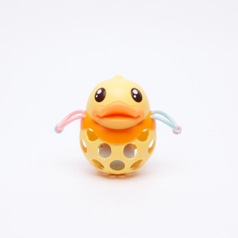 Duck Hand Ball and Rattle Toy Set