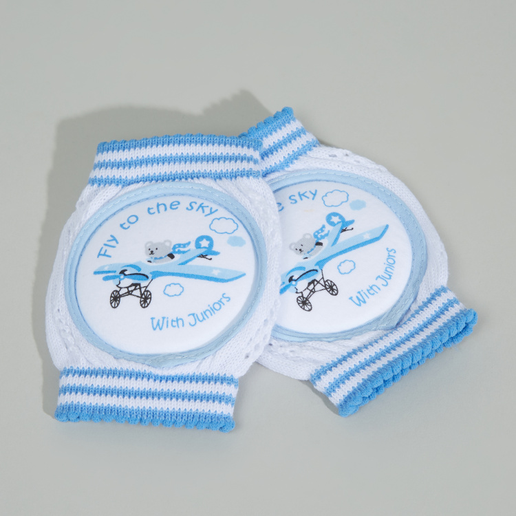 Juniors Printed Knee Pad - Set of 2