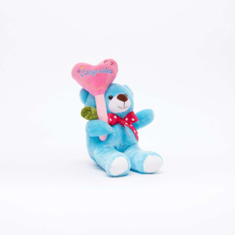 Juniors Balloon Bear Plush Toy