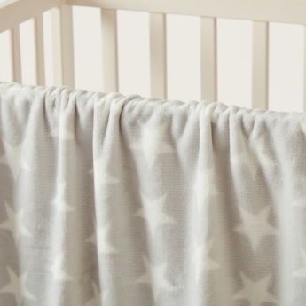 Juniors Star Printed Blanket - 75x100 cms