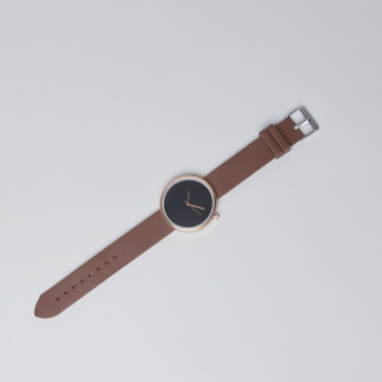 Juniors Metallic Case Wristwatch
