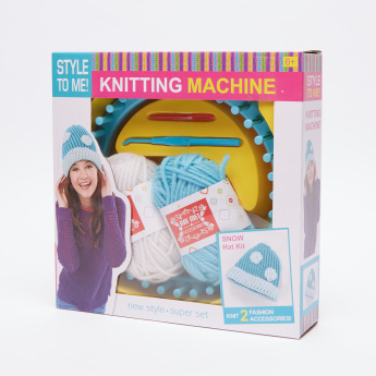 Knitting Machine Hat Kit