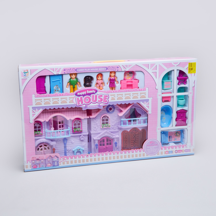 Happy Family House Villa Playset