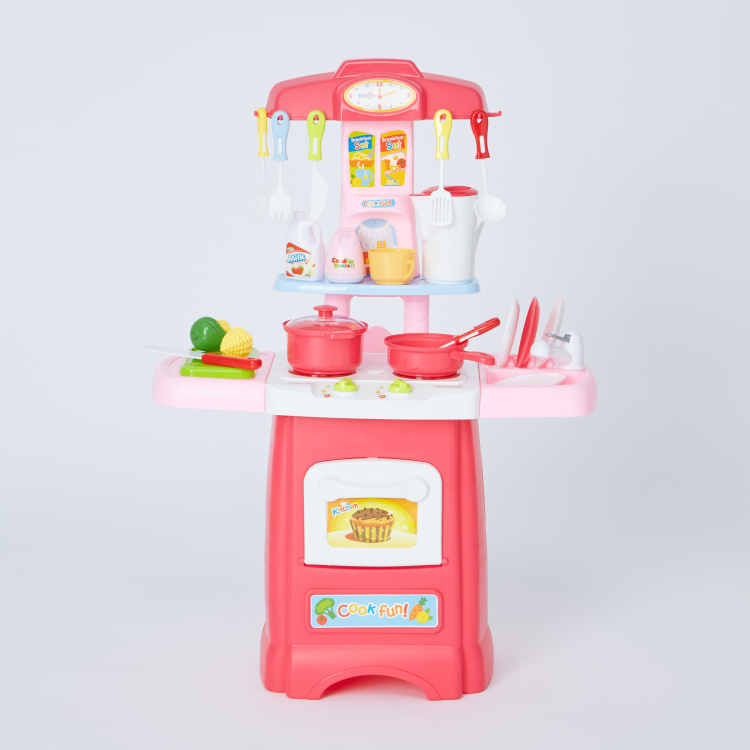 Kitchen Playset with Trolley