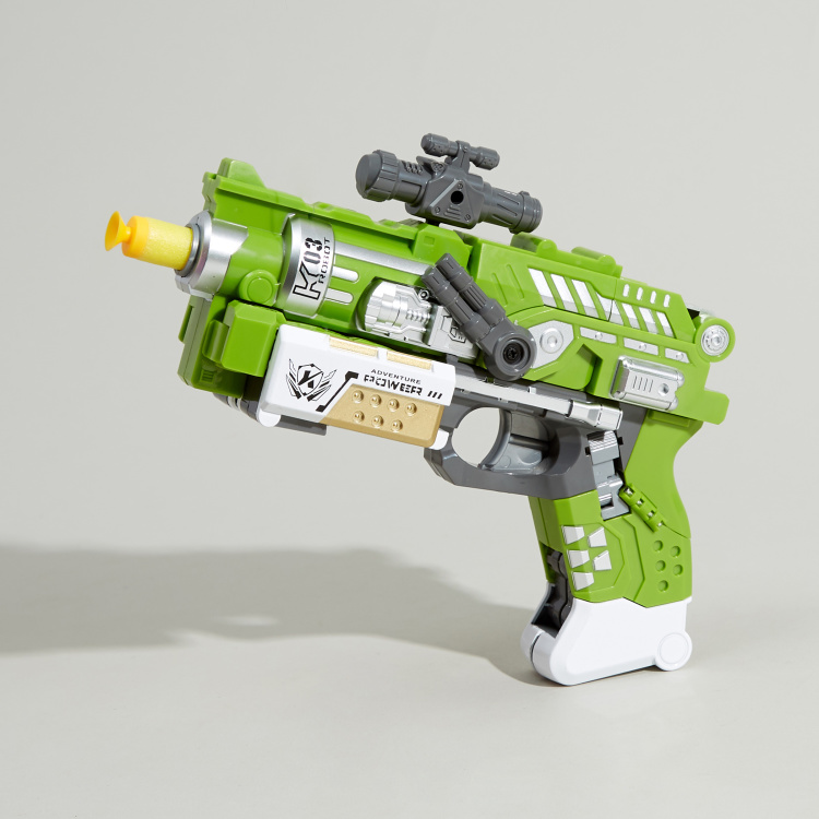 Deformation Soft Bullet Blaster Toy Gun