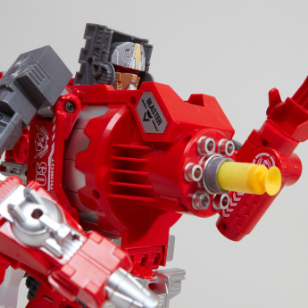 Die Cast Fire Phoenix Gun King Toy