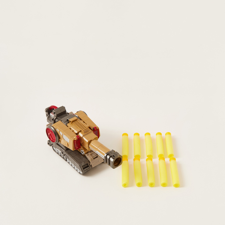 Land King  Soft Bullet Blaster Toy