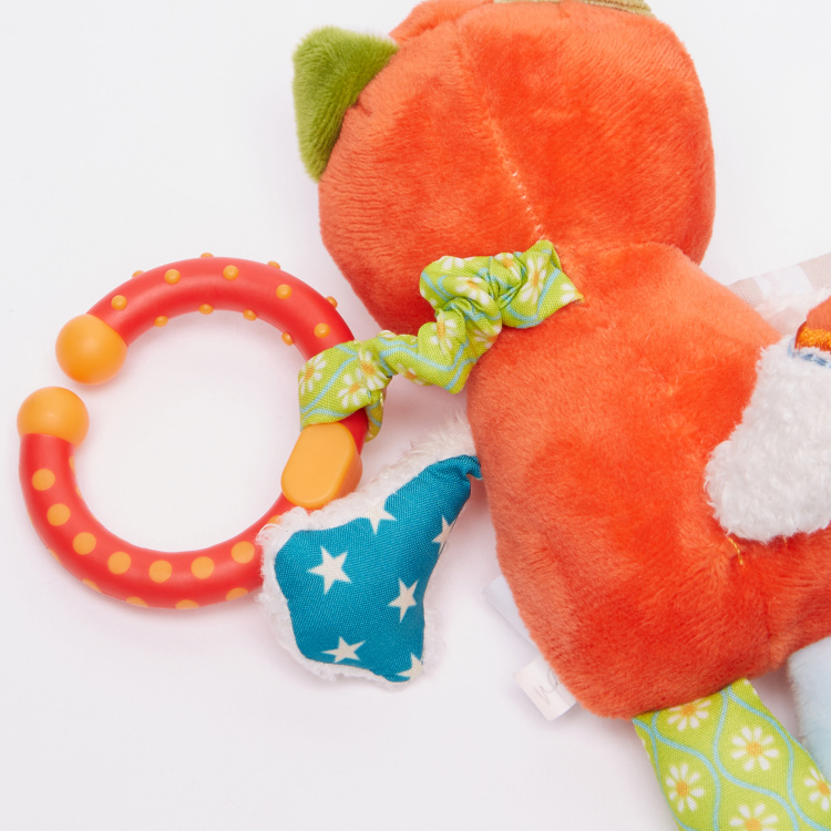Giggles Fox Rattle with Vibration