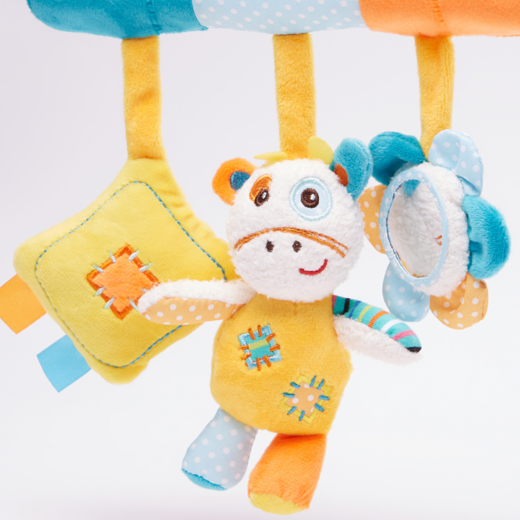 Giggles Activity Giraffe Hanging Rattle