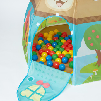 Juniors Naughty Bear Play Tent with 100 Balls