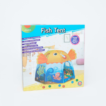 Juniors Fish Play Tent with 100 Balls