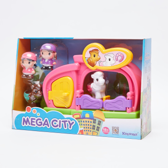 Keenway Mega City Barn Playset