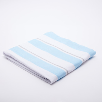 lulujo Striped Two Layered Blanket