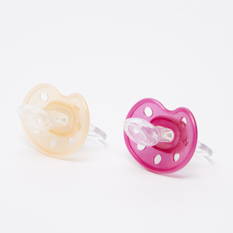 BABY-NOVA Printed Orthodontic Pacifier - Set of 2