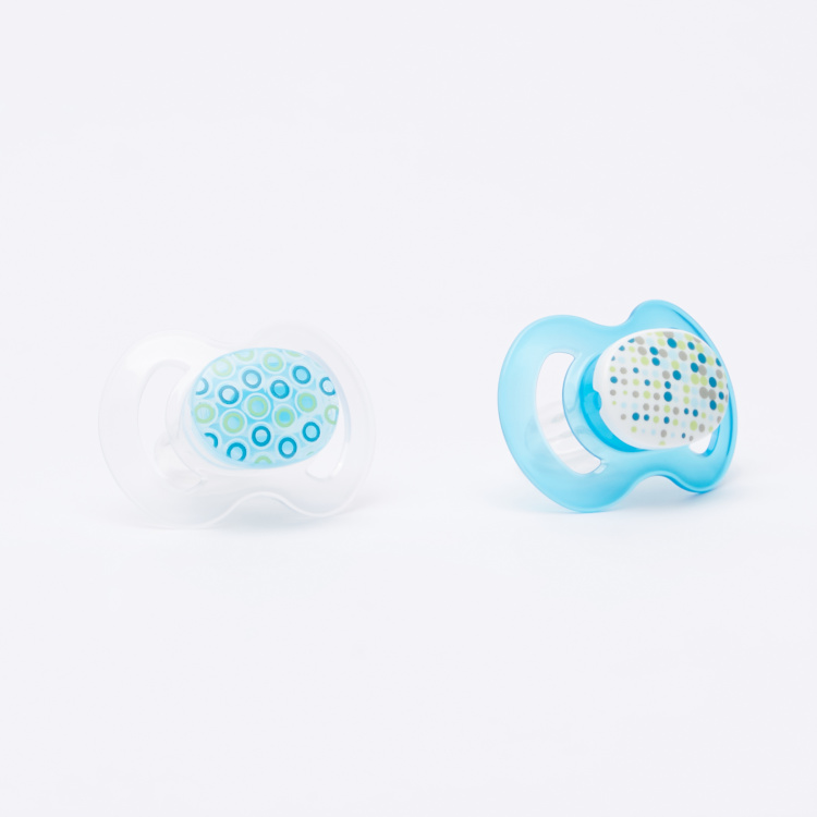 BABY-NOVA Printed Pacifier - Set of 2