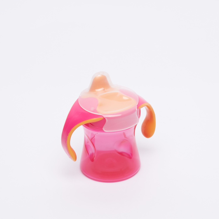 BABY-NOVA Spout Bottle with Handle and Cover - 220 ml