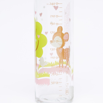 BABY-NOVA Printed Feeding Bottle - 240 ml