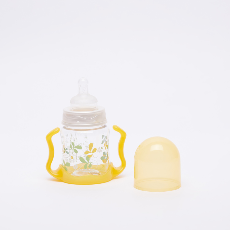 BABY-NOVA Printed Feeding Bottle with Handle - 150 ml