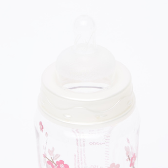 BABY-NOVA Printed Feeding Bottle - 300 ml