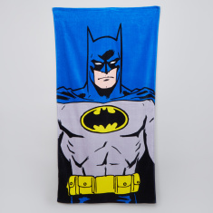 Batman Printed Beach Towel