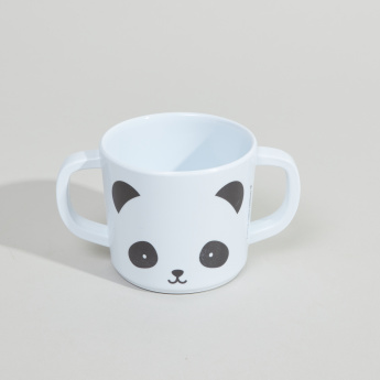 A little Lovely Company Panda Printed 5-Piece Dinner Set