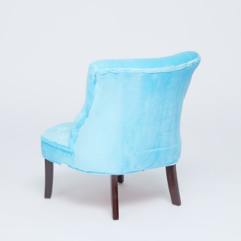 Juniors Stud Detail Padded Chair