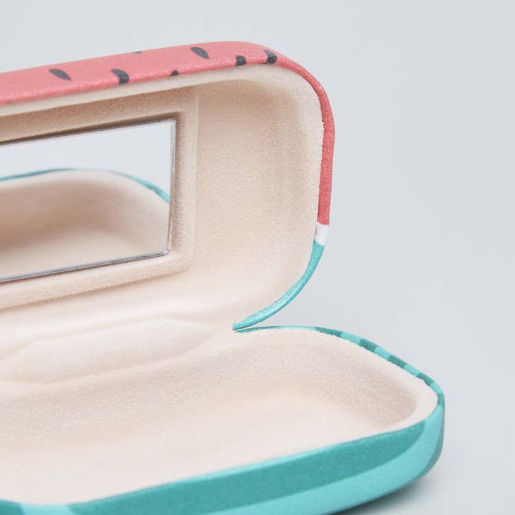Watermelon Printed Lens Box with Mirror