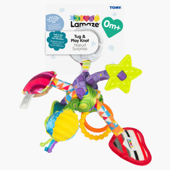 Tug and Play Activity Knot Toy