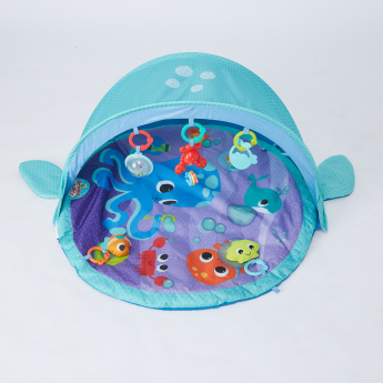 Bright Starts Explore and Go Whale Play Gym