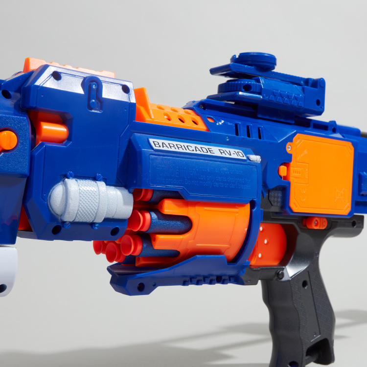 Blaze Storm Battery Operated Soft Dart Gun