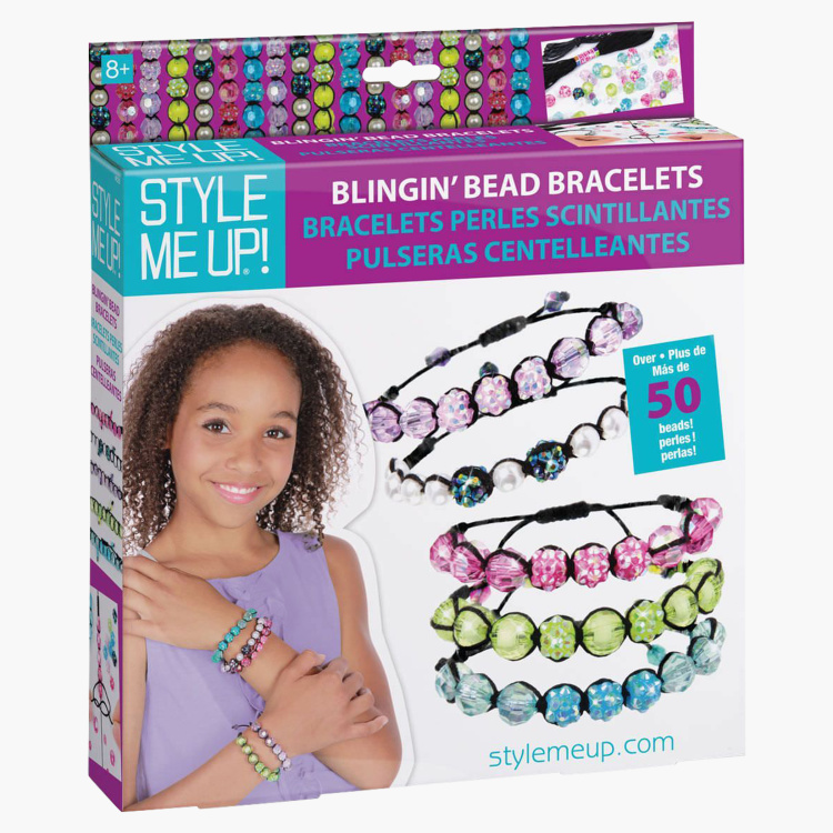 Style Me Up Blingin' Bead Bracelet Set