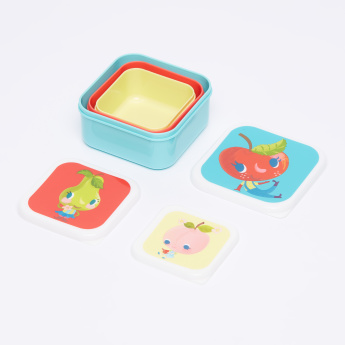 Petit Monkey 3-Piece Lunchbox Set