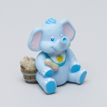 Nuby Fun N' Easy Feeding Plate with Spoon and Elephant Toy