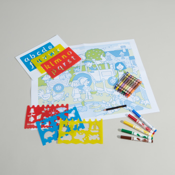 V-Tech Colouring Set with Stencils