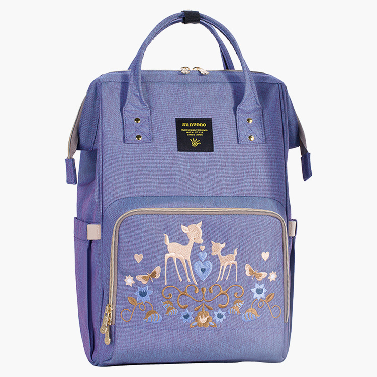 Sunveno Embroidered Diaper Bag