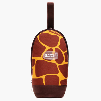 Sunveno Printed Feeding Bottle Cover with Zip Closure