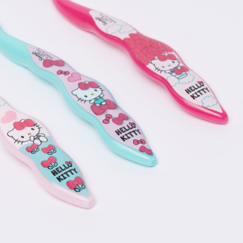 Hello Kitty Printed Toothbrush - Set of 3