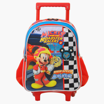 Mickey Mouse and the Roadster Racers Printed Trolley Backpack