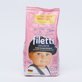 Filetti Sensitive Family Laundry Detergent - 1.2 kg