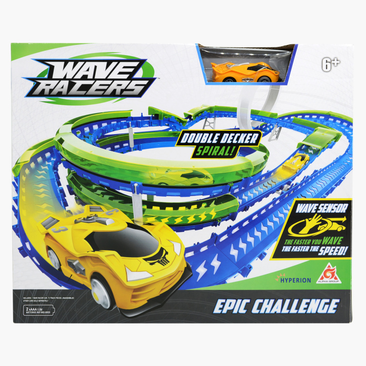 Epic Challenge Wave Racers 70-Piece Track Set
